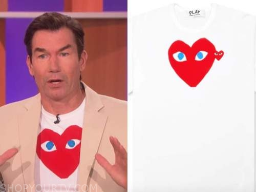 jerry o'connell, the talk, heart top