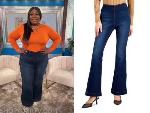 loni love, the real, flare jeans