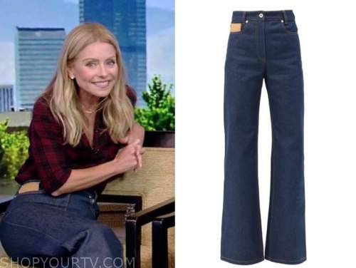 live with kelly and ryan, kelly ripa, patch jeans