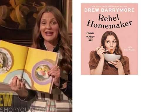 drew barrymore, drew barrymore show, cookbook