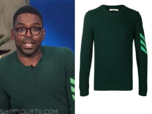 justin sylvester, E! news, daily pop, green arrow sweater