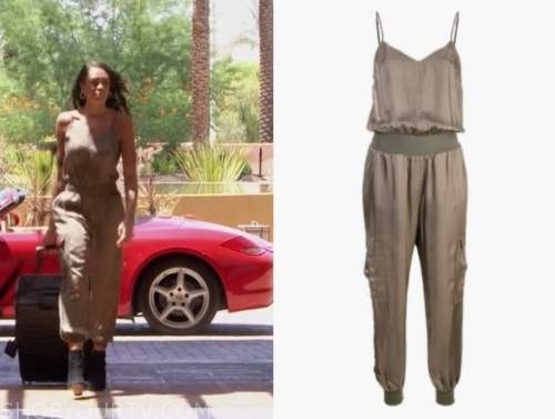 michelle young, green jumpsuit, the bachelorette
